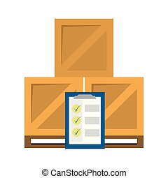 livraison, logistique