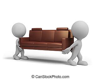 livraison, meubles
