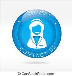 livraison, nous contacter