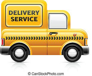 livraison, service voiture