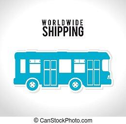 livraison, transport, expédition