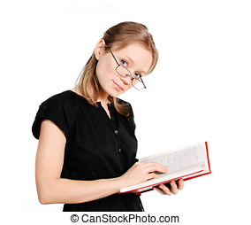 livre, étudiant