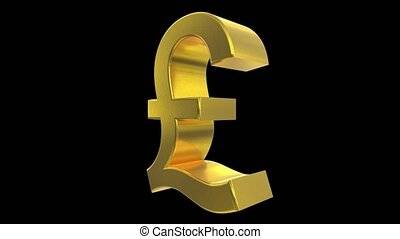 livre, angleterre, finance, business, symbole, impôt, signe, grande-bretagne, tourner, boucle