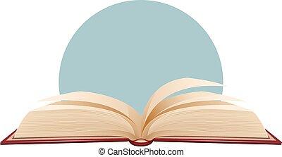 Livre Ouvert Fond Pages Vieux Ouvert Texte Arriere