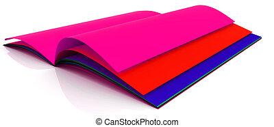 livre, coloré