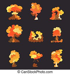 Explosion eps10 dessin anim - Dessin anime boom ...