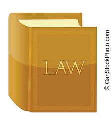 livre, conception, illustration, droit & loi