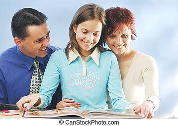 livre, famille