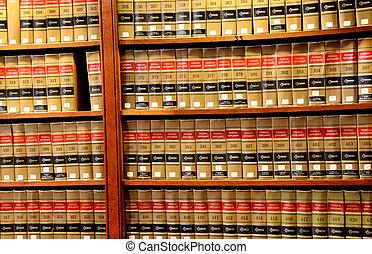 livre loi, bibliothèque