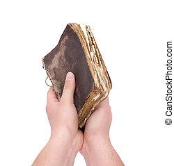 livre, main