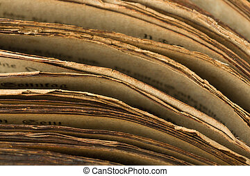 livre, moyen-âge, bords