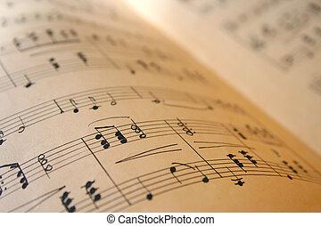 livre, musique