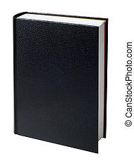 livre, noir, vide