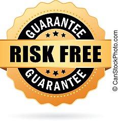 livre, risco, negócio, ícone