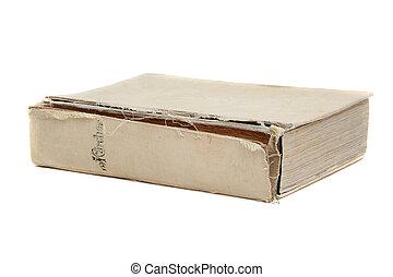 livre, vieux, fée-conte
