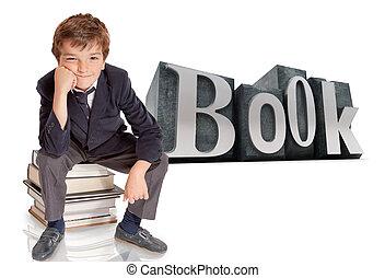 livres, écolier