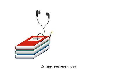 livres électroniques, technologie, elearning