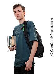 livres, étudiant