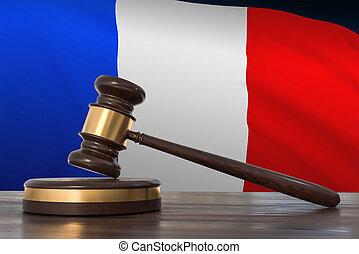 livres, avocats, droit & loi, gavel bois, bureau
