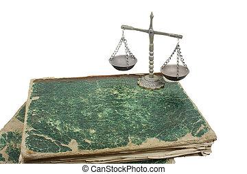 livres, balances pesantes
