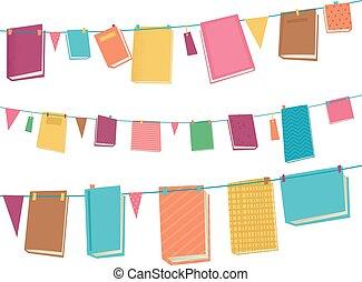 livres, buntings, illustration