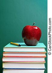 livres, et, pomme