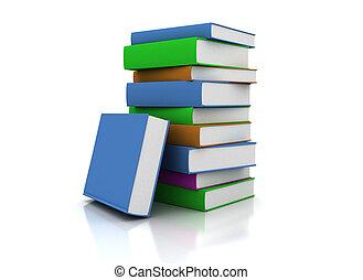 Colore Manuels Livres Couvertures Livre Cinq Vide