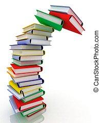 livres, piles