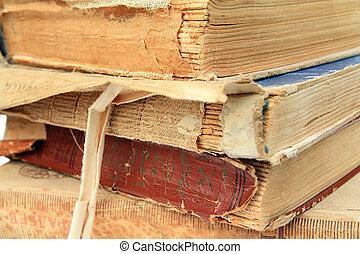 livres, vieux