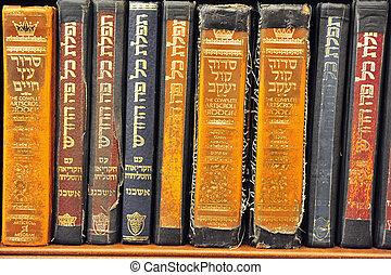 livres, vieux, torah
