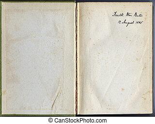livro, antigas