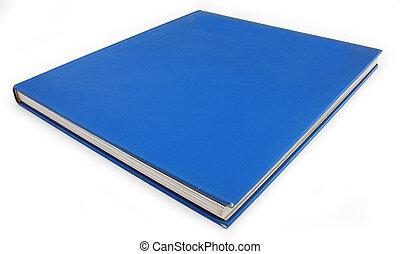 livro azul, fundo, democrata, política, conceito