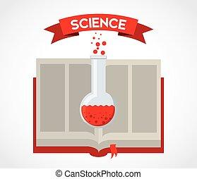 livro, ciência