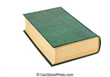 livro duro tampa, isolado