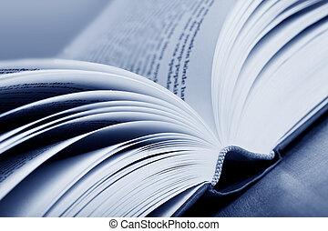 livro, experiência verde