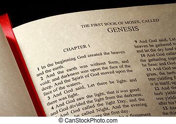 livro, gênesis