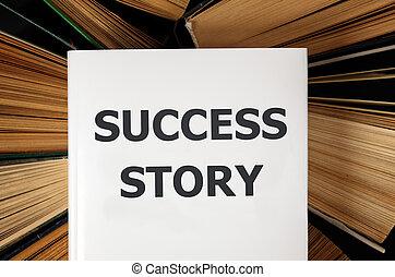 livro história, sucesso