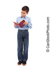 livro leitura, aluno