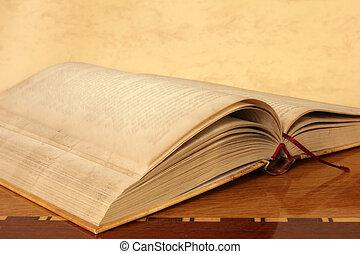livro, páginas