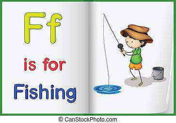 livro, pesca