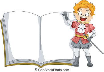 livro, príncipe