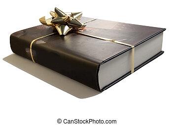 livro, presente
