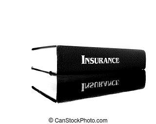 livro, seguro saúde, cuidado