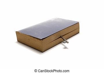 livro, tecla