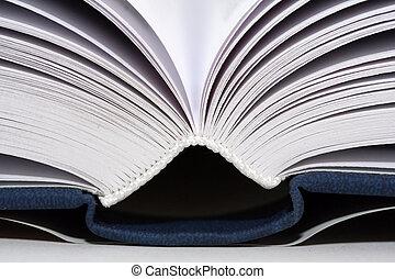 livros, aberta