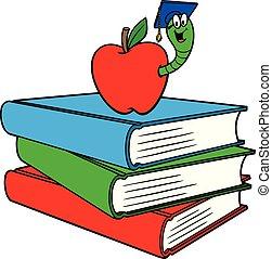 livros, bookworm