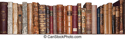 livros velhos