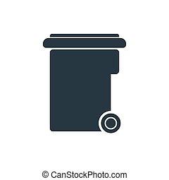 lixo, ícone