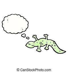 lizard cartoon