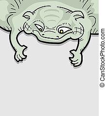 Lizard frame